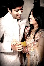 Kinshuk Mahajan got married to his girlfriend Divya Gupta in Delhi on 12th November 2011 (8).jpg