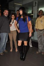 Sunny leone arrives in Mumbai to be part of Big Boss in Mumbai Airport on 17th Nov 2011 (10).JPG