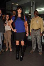 Sunny leone arrives in Mumbai to be part of Big Boss in Mumbai Airport on 17th Nov 2011 (11).JPG