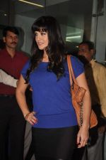 Sunny leone arrives in Mumbai to be part of Big Boss in Mumbai Airport on 17th Nov 2011 (14).JPG