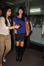 Sunny leone arrives in Mumbai to be part of Big Boss in Mumbai Airport on 17th Nov 2011 (19).JPG