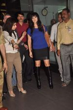 Sunny leone arrives in Mumbai to be part of Big Boss in Mumbai Airport on 17th Nov 2011 (2).JPG
