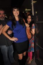 Sunny leone arrives in Mumbai to be part of Big Boss in Mumbai Airport on 17th Nov 2011 (24).JPG