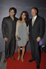 Vivek Oberoi, Priyanka Oberoi at A. Lange and Sohne party in Aurus, juhu, Mumbai on 17th Nov 2011 (54).JPG