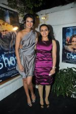 Sayali bhagat with Puja Jatinder Bedi Unveiled the Audio of film Ghost in Mumbai on 18th Nov 2011.JPG