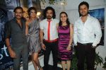 Toshi, Sayali Bhagat, Sharib, Puja Jatinder Bedi with Javed Ali  Unveiled the Audio of film Ghost in Mumbai on 18th Nov 2011.JPG