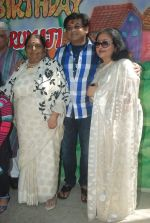 Amit Kumar, Leena Chandavarkar at Ruma Devi_s birthday in Juhu, Mumbai on 21st Nov 2011 (95).JPG