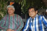 Javed Akhtar, Amit Kumar at Ruma Devi_s birthday in Juhu, Mumbai on 21st Nov 2011 (71).JPG