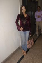 Nandini Singh at Designer Aarti Gupta showcases her collection in Wedding Cafe on 23rd Nov 2011 (6).JPG