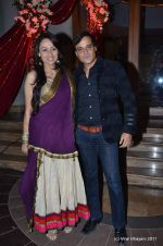 Gauri and Yash Tonk at Shabbir Ahluwalia and Kanchi Kaul_s sangeet ceremony on 24th Nov 2011 (55).JPG