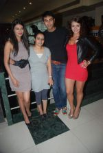 Sayali Bhagat, Puja Jatinder Bedi, Sandip Soparkar, Julia Bliss on location of film Ghost in Wild Wild West, Fun Republic on 24th Nov 2011 (56).JPG