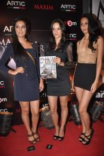 Angela Jhonson at Maxim mag cover launch in Parel, Mumbai on 30th Nov 2011 (1).JPG