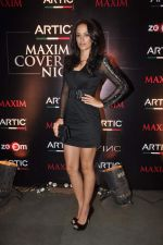 Angela Jhonson at Maxim mag cover launch in Parel, Mumbai on 30th Nov 2011 (2).JPG