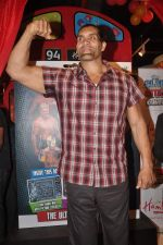 The Great Khali launches the Topps Slam Attax Trading Card Game to bring alive WWE experience for kids in Hamleys on 1st Dec 2011 (100).JPG