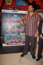 The Great Khali launches the Topps Slam Attax Trading Card Game to bring alive WWE experience for kids in Hamleys on 1st Dec 2011 (71).JPG