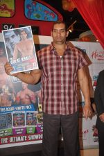 The Great Khali launches the Topps Slam Attax Trading Card Game to bring alive WWE experience for kids in Hamleys on 1st Dec 2011 (79).JPG