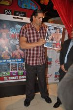 The Great Khali launches the Topps Slam Attax Trading Card Game to bring alive WWE experience for kids in Hamleys on 1st Dec 2011 (83).JPG