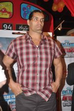The Great Khali launches the Topps Slam Attax Trading Card Game to bring alive WWE experience for kids in Hamleys on 1st Dec 2011 (94).JPG