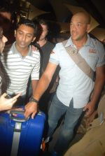 Andrew Symonds snapped at the Mumbai airport on 5th Dec 2011 (14).JPG