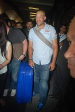 Andrew Symonds snapped at the Mumbai airport on 5th Dec 2011 (26).JPG
