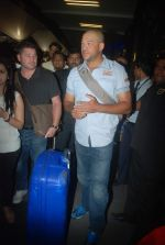 Andrew Symonds snapped at the Mumbai airport on 5th Dec 2011 (29).JPG