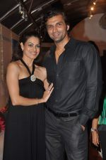 Chetan Hansraj, Lavinia Hansraj at Lavina Hansraj furnishing launch in Mumbai on 18th Dec 2011 (2).JPG