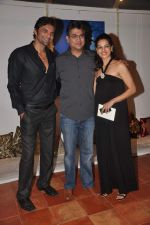 Chetan Hansraj, Lavinia Hansraj at Lavina Hansraj furnishing launch in Mumbai on 18th Dec 2011 (22).JPG