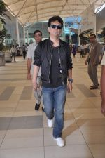 Sajid Nadiawala return after CCL cricket match in Airport, Mumbai on 20th Dec 2011 (6).JPG