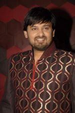Wajid at the launch of Madhurima Nigam_s mens wear line in Trilogy o 20th Dec 2011 (41).JPG