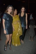 Amrita Arora, Malaika Arora Khan at Midnight mass in Bandra, Mumbai on 24th Dec 2011 (35).JPG