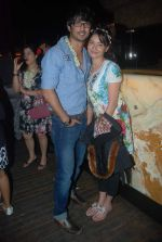Ankita Lokhande, Sushant Singh Rajput at Nandish Sandhu_s Bday party in Sheesha Lounge on 25th Dec 2011 (49).JPG