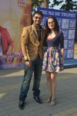 Mahakshay Chakraborty, Vaishali Desai at Mid-Day Race in RWITC, Mahalaxmi on 25th Dec 2011 (59).JPG