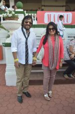 Roop Kumar Rathod, Sonali Rathod at Mid-Day Race in RWITC, Mahalaxmi on 25th Dec 2011 (114).JPG