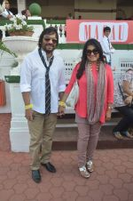 Roop Kumar Rathod, Sonali Rathod at Mid-Day Race in RWITC, Mahalaxmi on 25th Dec 2011 (115).JPG
