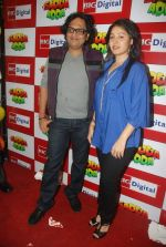 Shamir Tandon, Sunidhi Chauhan at Sadda Adda music launch in Big FM on 26th Dec 2011 (84).JPG