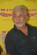 Naseeruddin Shah with the star cast of Chaalis Chaurasia at Radio Mirchi in Parel, Mumbai on 27th Dec 2011 (3).JPG