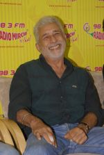 Naseeruddin Shah with the star cast of Chaalis Chaurasia at Radio Mirchi in Parel, Mumbai on 27th Dec 2011 (5).JPG