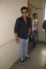 Ravi Kishan with the star cast of Chaalis Chaurasia at Radio Mirchi in Parel, Mumbai on 27th Dec 2011 (26).JPG