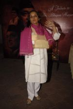 Shabana Azmi at Bhupen Hazarika tribute in Andheri, Mumbai on 27th Dec 2011 (18).JPG
