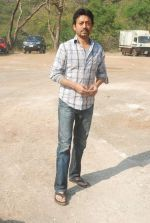 Irrfan Khan on location of film Pranam Walkum in Filmcity, Mumbai on 29th Dec 2011 (42).JPG