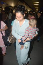 Manyata Dutt snapped at airport on 29th Dec 2011 (28).JPG