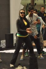 Neha Dhupia practice for Sahara Star Seduction in Sahara Star on 30th Dec 2011 (10).JPG