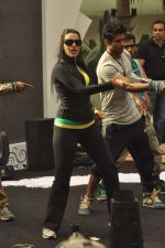 Neha Dhupia practice for Sahara Star Seduction in Sahara Star on 30th Dec 2011 (11).JPG