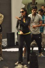 Neha Dhupia practice for Sahara Star Seduction in Sahara Star on 30th Dec 2011 (12).JPG