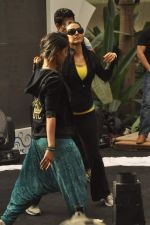Neha Dhupia practice for Sahara Star Seduction in Sahara Star on 30th Dec 2011 (15).JPG