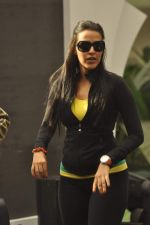 Neha Dhupia practice for Sahara Star Seduction in Sahara Star on 30th Dec 2011 (16).JPG