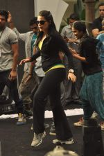 Neha Dhupia practice for Sahara Star Seduction in Sahara Star on 30th Dec 2011 (20).JPG