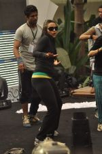 Neha Dhupia practice for Sahara Star Seduction in Sahara Star on 30th Dec 2011 (29).JPG