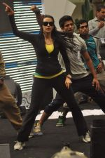 Neha Dhupia practice for Sahara Star Seduction in Sahara Star on 30th Dec 2011 (33).JPG