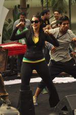 Neha Dhupia practice for Sahara Star Seduction in Sahara Star on 30th Dec 2011 (35).JPG